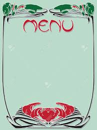 Designs Of Menu Card Template Vintage Designs Of Menu And Business Card For Cafe And