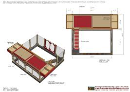 Chicken Coop Floor Plan Home Garden Plans M115 Chicken Coop Plans Chicken Coop Design
