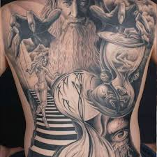 110 dazzling back tattoos and designs