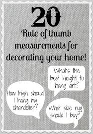 How High To Hang Chandelier 20 Rule Of Thumb Measurements For Decorating Your Home Driven