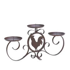 rooster silhouette candleholder wholesale at eastwind wholesale