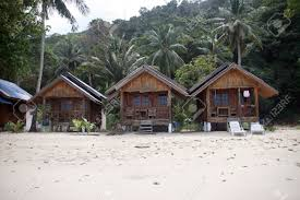 wooden bungalows on the beach tropical destinations koh chang