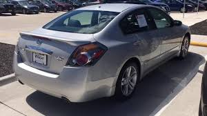 nissan altima coupe 2011 2011 nissan altima 3 5 sr youtube