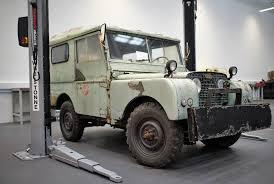 land rover jeep cars photo essay jaguar land rover restoration shop gear patrol