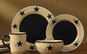 ceramic dinnerware primitive home decors