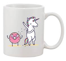 these unicorn mugs will add some sparkle to your mornings