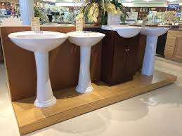 beautiful design types of bathroom sinks pedestal sink handy