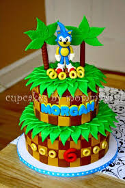 sonic the hedgehog cake topper sonic the hedgehog birthday cake cakes ideas