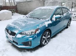 subaru sport hatchback first snow day with my 2017 impreza sport subaru