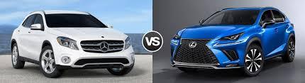 compare 2018 mercedes benz gla vs 2018 lexus nx fort mitchell ky