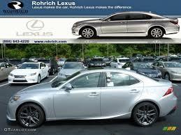 lexus is f sport atomic silver 2014 silver lining metallic lexus is 250 f sport awd 85269654