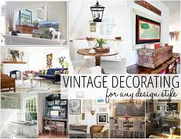 vintage style home decor ideas stunning home decorating styles photos decorating interior