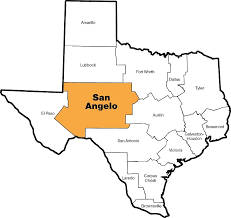 map of san angelo about the diocese diocese of san angelo san angelo