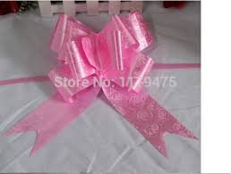 pull bow ribbon 100 pcs new large big size 76 5cm pull bow ribbon flower gift