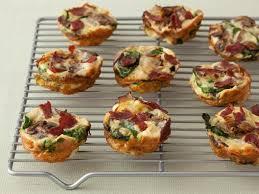 mini spinach and quiche recipe food network kitchen