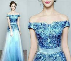 dress pesta dress pesta gaun cantik bahan brukat model terbaru