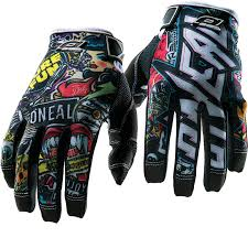 motocross safety gear oneal jump kids crank motocross gloves junior gloves