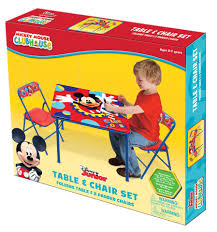 Mickey Mouse Chair by Disney Mickey Mouse Playground Pals Activity Table Set Toys