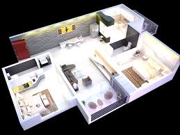 2 bedroom house plans designs 3d artdreamshome fancy corglife