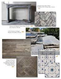the magnificence of antique and aged french limestone flooring