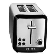 Two Slice Toaster Reviews Krups Savoy 2 Slice Stainless Toaster Kh311050 The Home Depot