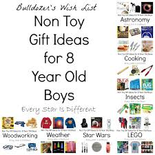 Present Idea For 8 Year Old Boy