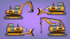 transformer bulldozer crane excavator truck construction