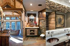 rustic bathroom ideas pictures beautiful rustic bathroom ideas to warm your winter