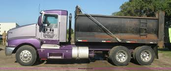 kenworth dump truck 1995 kenworth t600 dump truck item l6311 sold october 8