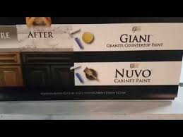 nuvo cabinet paint follow up youtube