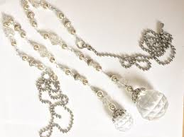 ceiling fan pull chain set extra long ceiling fan pull set light pull pair crystal prism ball