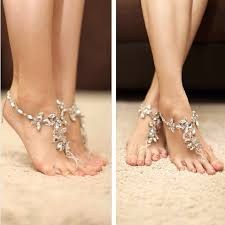 barefoot sandals for wedding inspiring barefoot sandals designs for wedding