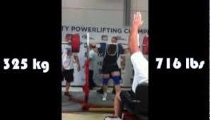 200 Lbs Bench Press Matt Sohmer 372 5kg Squat All Things Gym