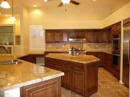 brown kitchen cabinets kitchen brown kitchen cabinets with kitchen island and quartz