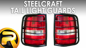 how to install steelcraft tail light guards youtube
