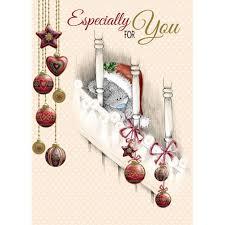 especially for you me to you bear christmas card 1 79 teddy