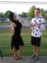 cruella deville costume spirit halloween couples halloween costume cruella deville and a dalmation