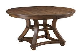 amish marshfield table with optional lazy susan top