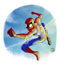 spider man phil vazquez illustration
