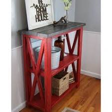 rustic home decor ana white entry way console table coffee
