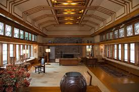 frank lloyd wright living room living room from the francis w little house windows and paneling