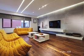 Contemporary Apartment Design By Studio  Bucharest DesignRulz - Contemporary apartment design