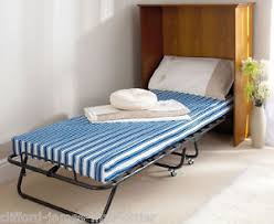Single Folding Guest Bed Single Folding Guest Bed 4 Thick Mattress Sturdy Frame Optional