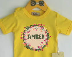 Customized Baby Custom Baby Romper Custom Quote Baby Clothes Custom Baby