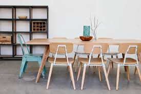 Rustic Dining Chair Scandinavian Dining Room Ideas 4 Brown Stained Teak Armless