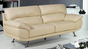 Leather Sofas Modern Style Cream Leather Sofas With Samuel Cream Leather