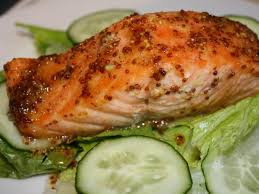 mustard roasted salmon recipe angelo white m s r d