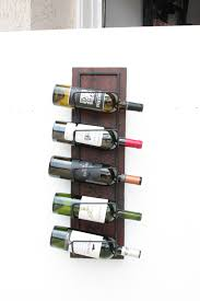 decor deluxe diamond shape wall wine racks with puzzling slot
