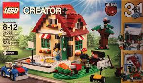 light brick sets bricker construction toy by 31038 changing seasons