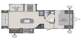 bullet rv floor plans 2018 keystone bullet premier 30ripr travel trailer pr18184 big